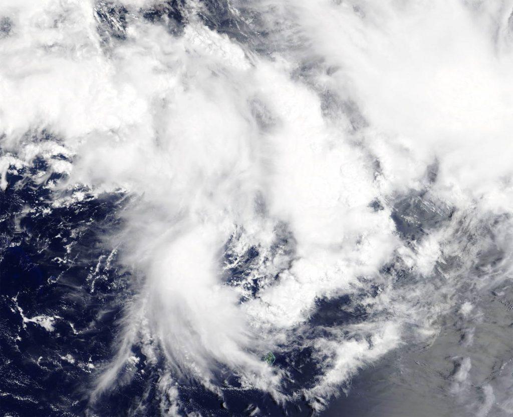 Terra image of 18P