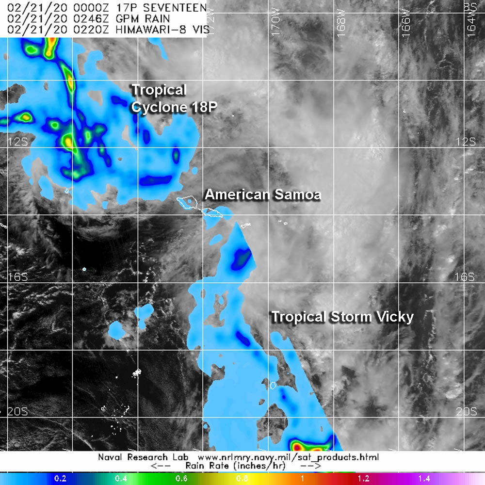 GPM image of Vicky