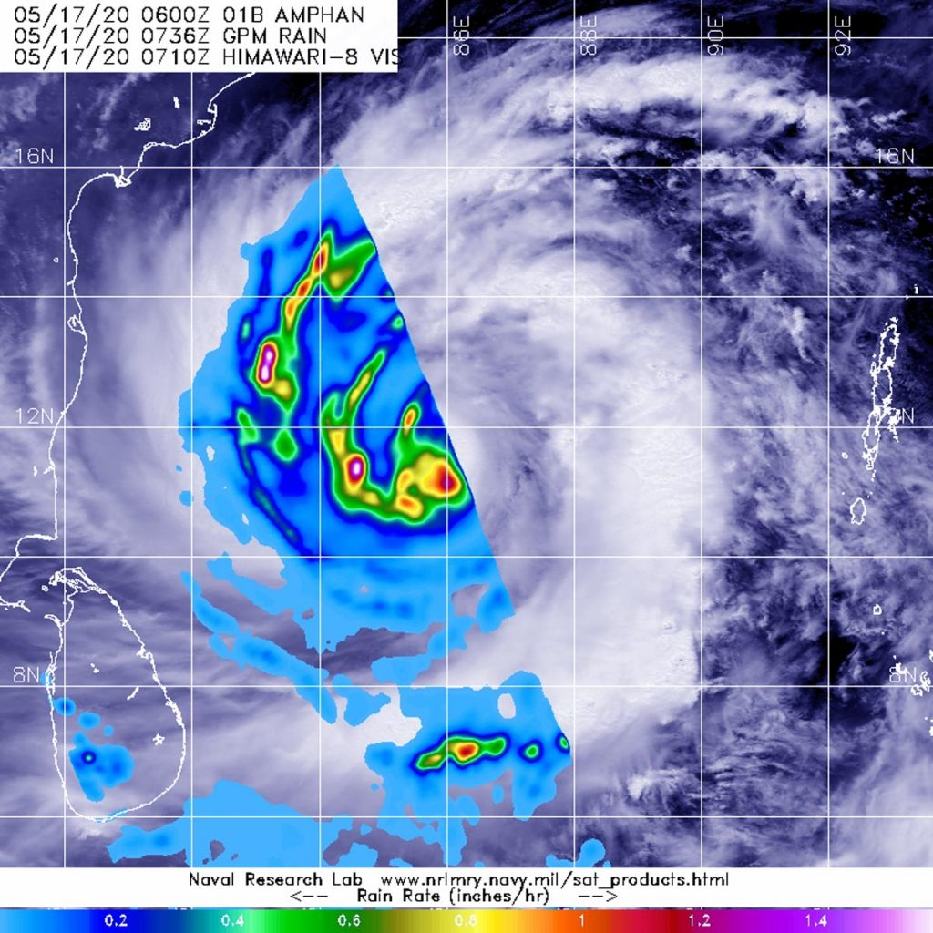 GPM image of Ampan