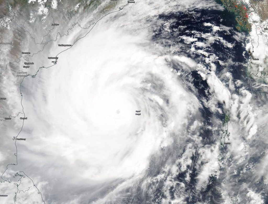 Suomi NPP image of Amphan