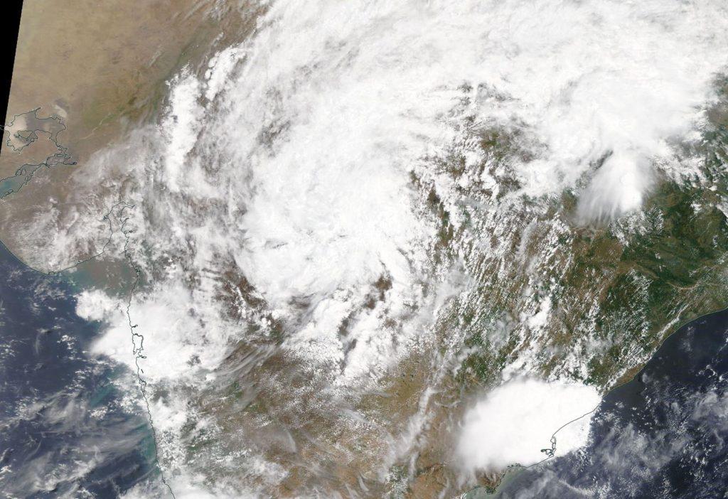 Terra image of Nisarga