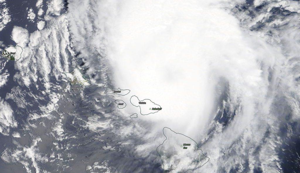 Terra image of Douglas