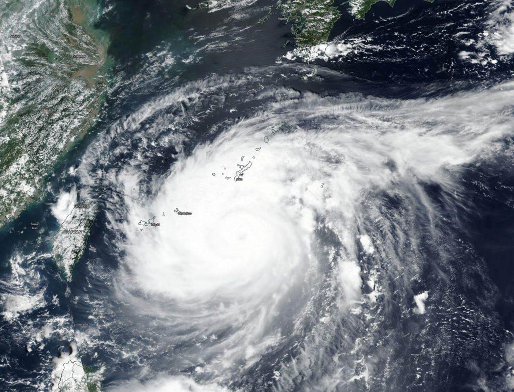 Terra image of Maysak