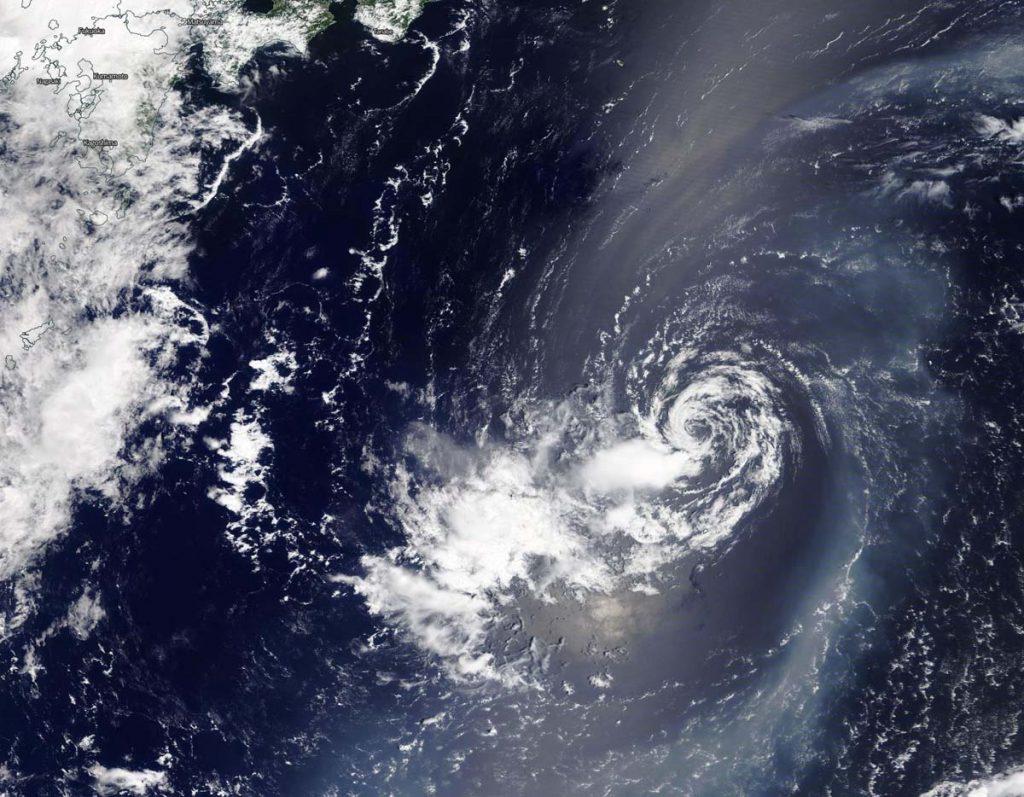 Terra image of 06W