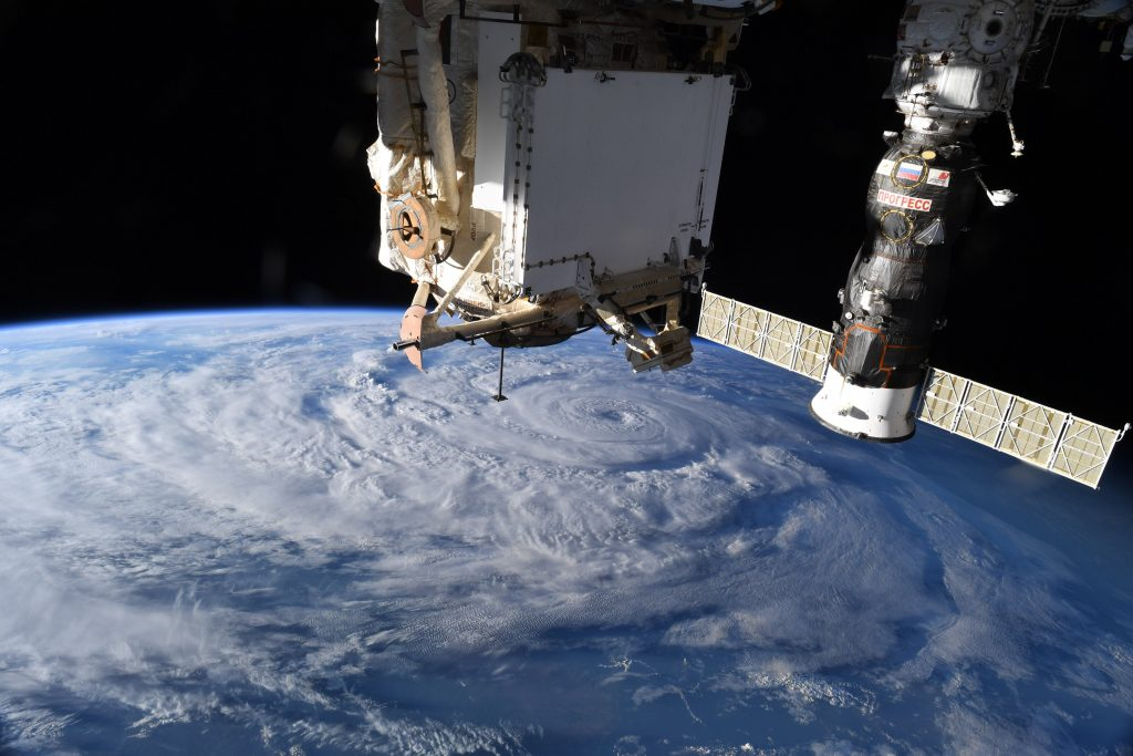 ISS image of Genevieve