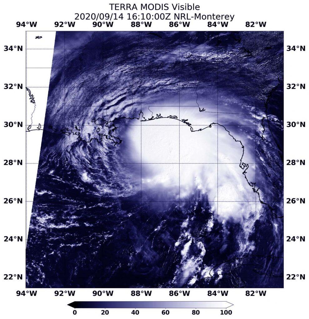 Terra image of Sally