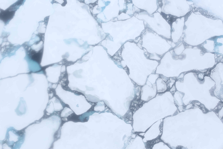 Larger broken ice