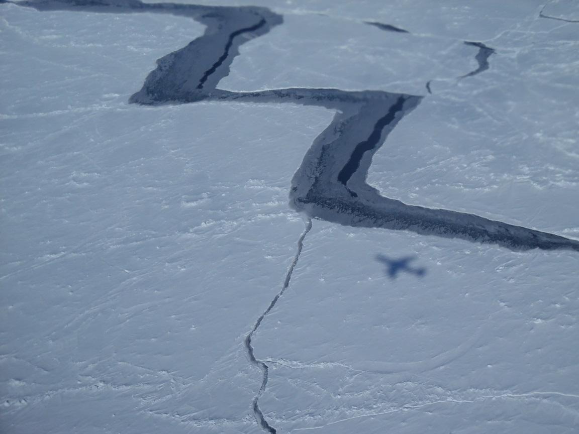 sea ice shadow