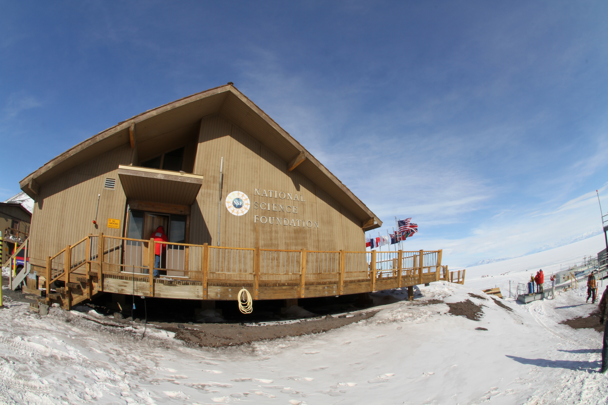NSF Chalet at McMurdo