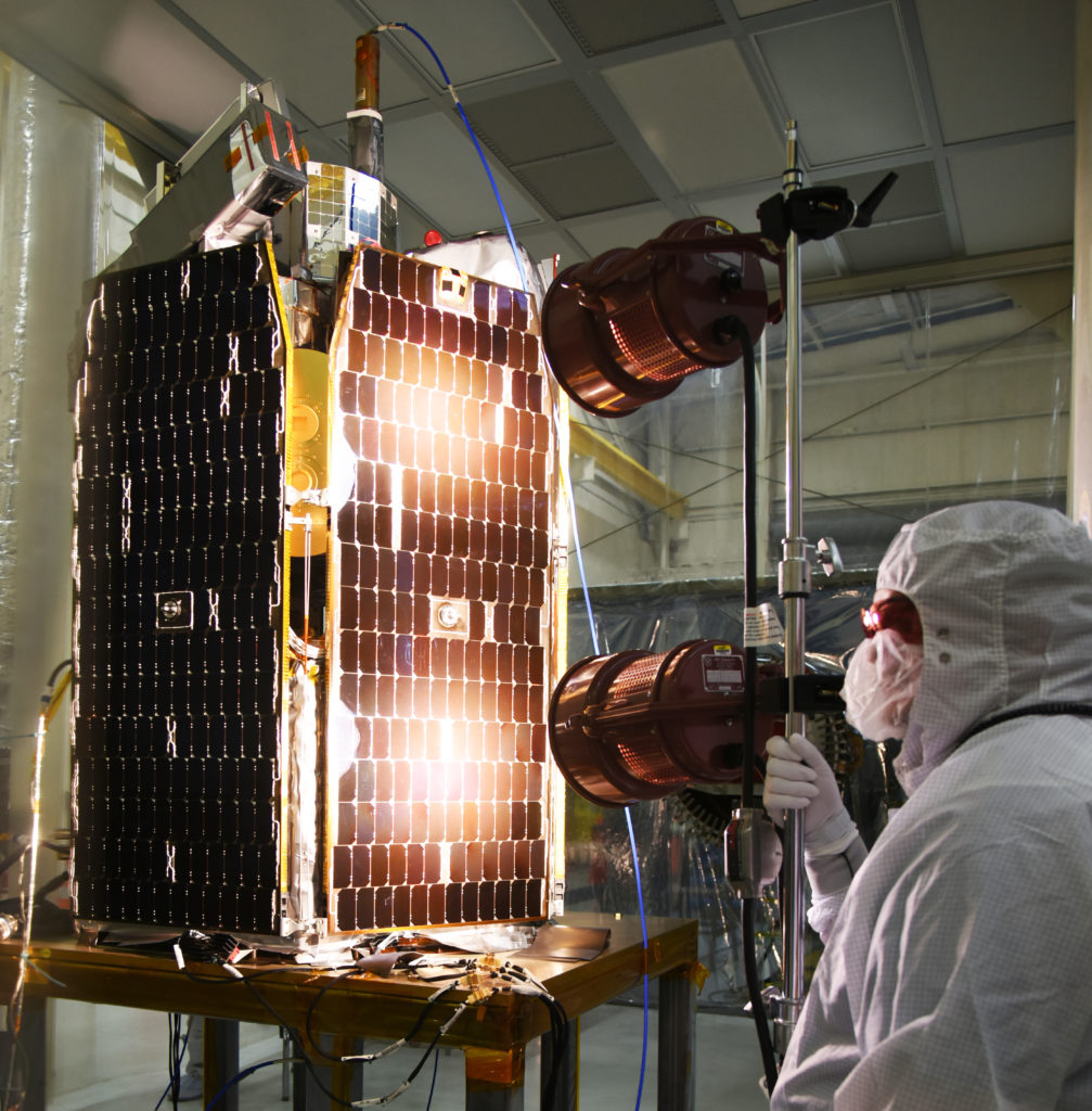 ICON Satellite Arrives at Vandenberg AFB