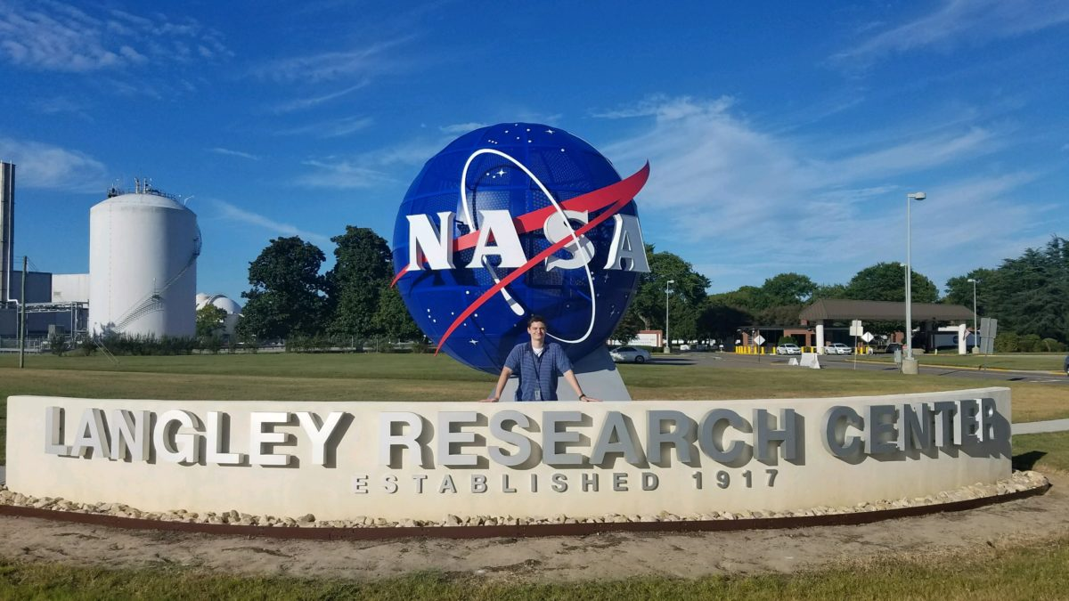 Samuel Mohler at NASA's Langley Research Center: Greater Than Grades