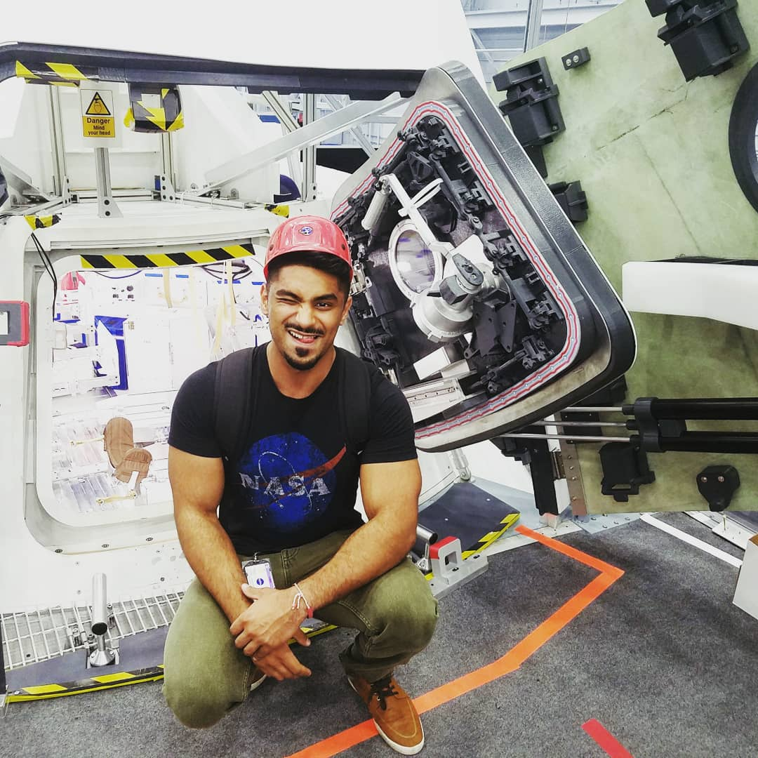 Sunny Panjwani: Finding the Way to NASA's Johnson Space Center