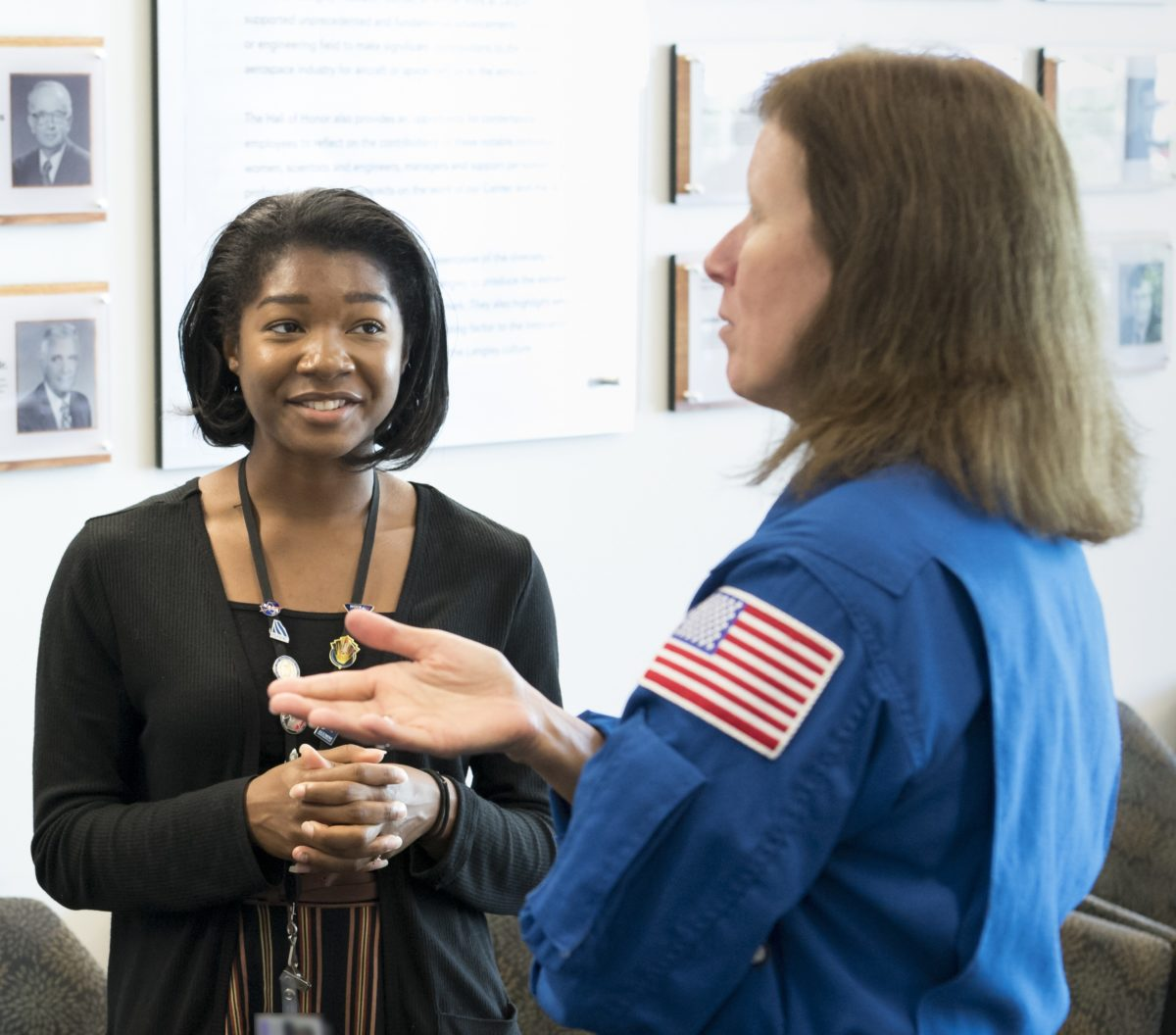 Jasmine Hopkins: The Craft of Communication at NASA's Langley Research Center