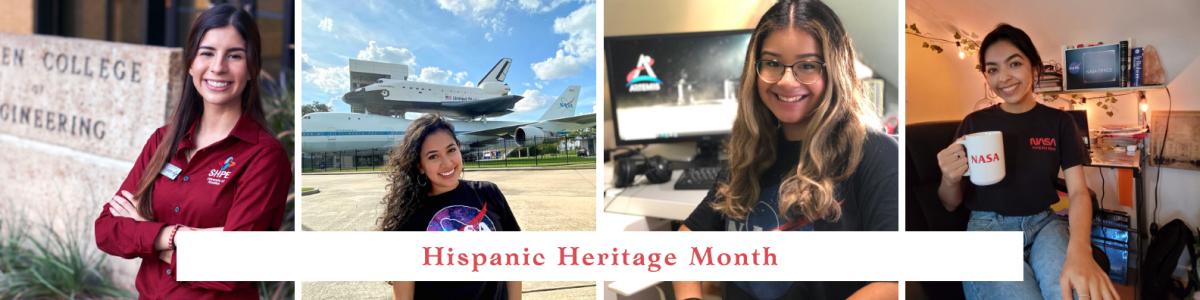 NASA Interns Celebrating Hispanic Heritage Month