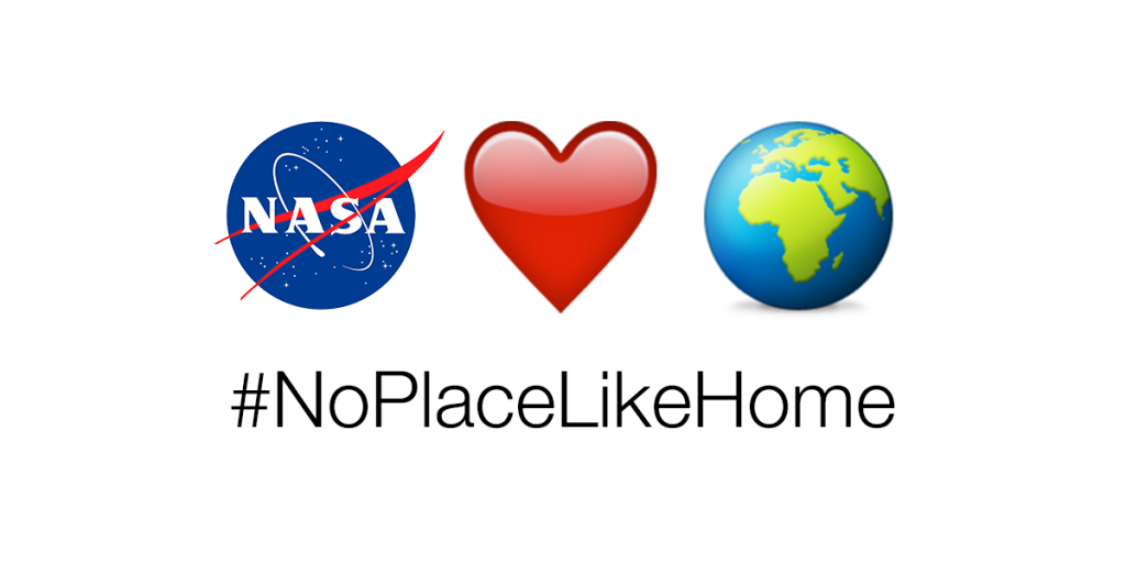 Earth Day Hashtag NoPlaceLikeHome