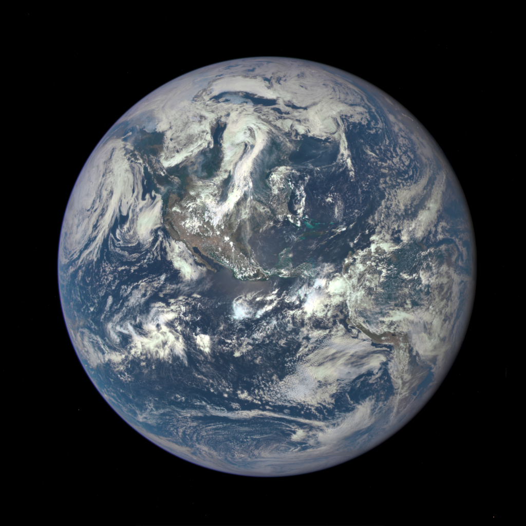 Earth as photographed by DSCOVR