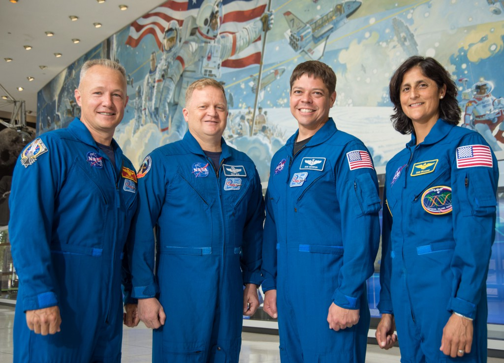 Commercial Crew Astronauts