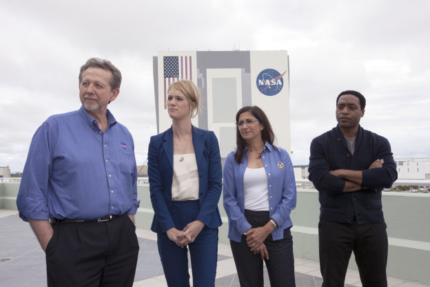 'The Martian' Cast Visits Kennedy