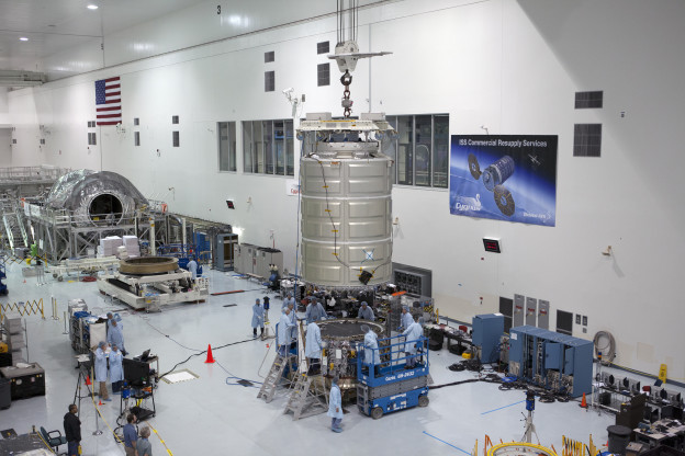 Cygnus Joined to Service Module