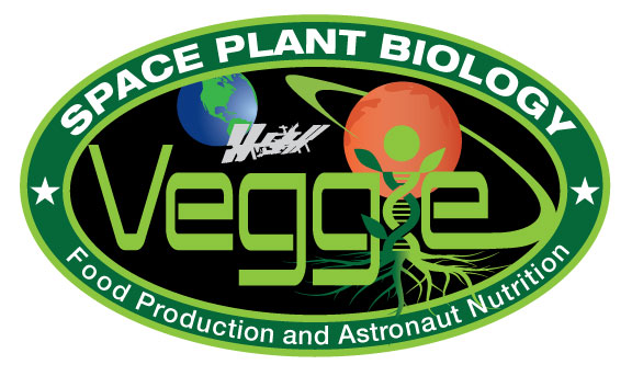 International Space Station Veggie plant growth system