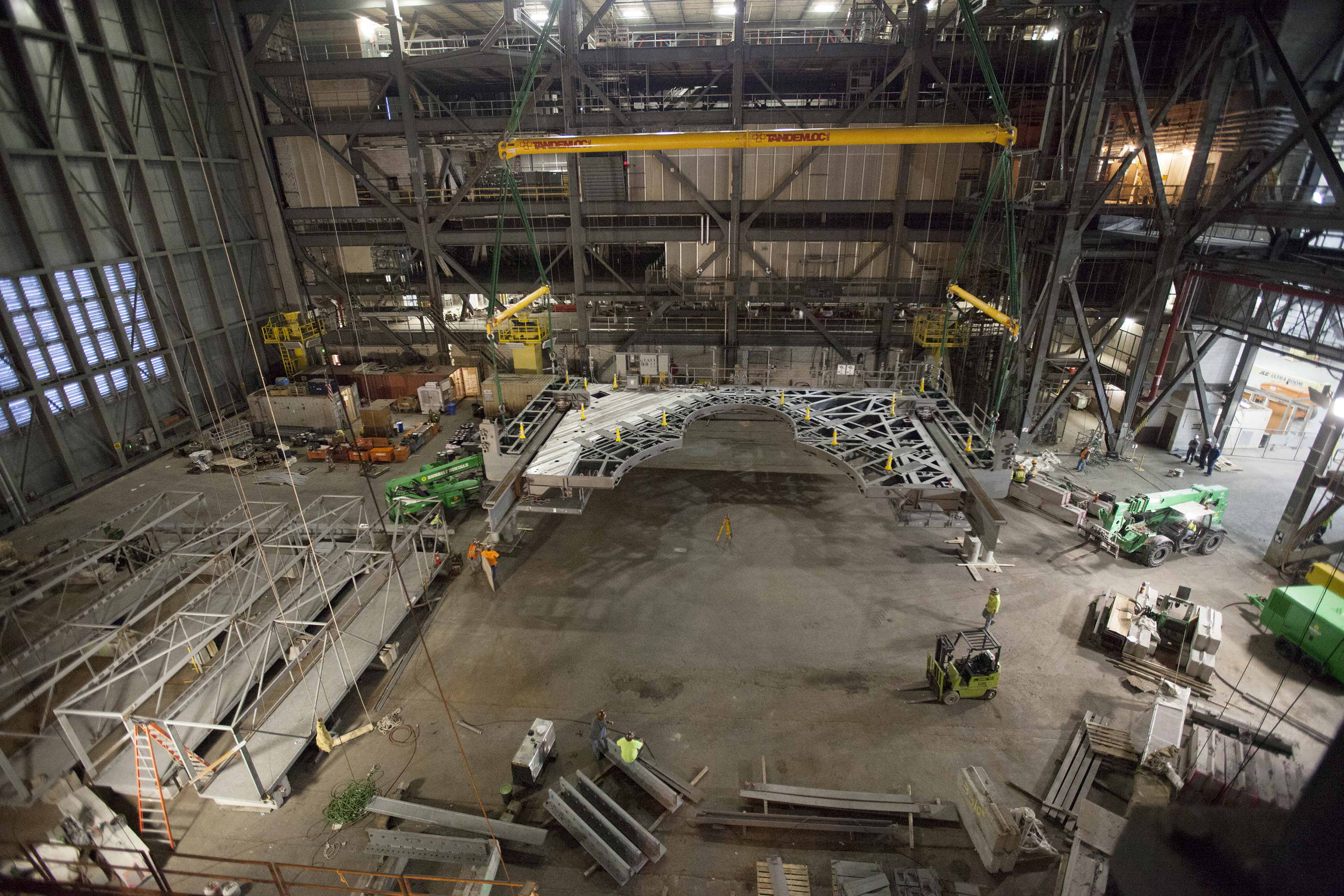 First Work Platform For Nasa S Space Launch System