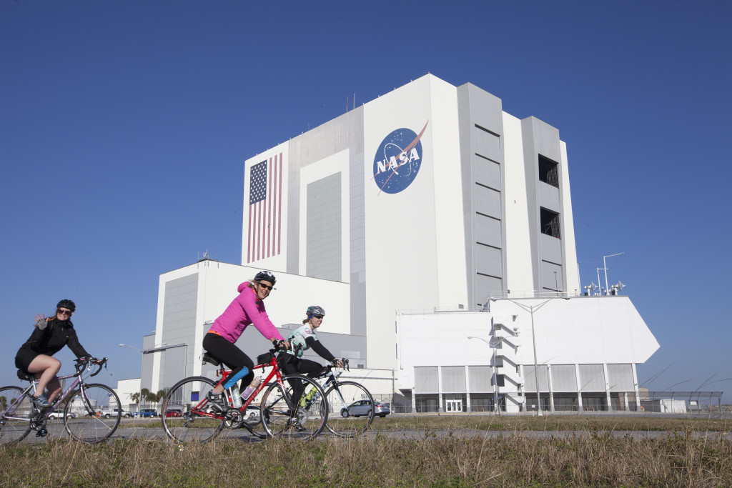 Bicycle Tour through KSC.