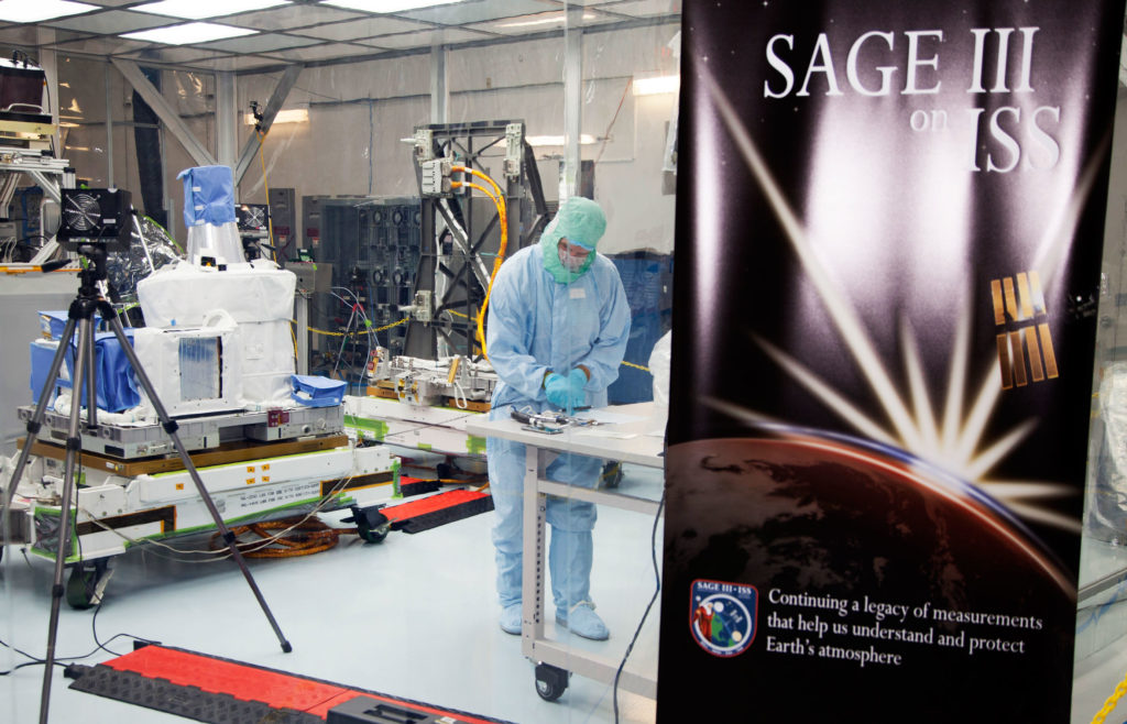 SAGE III checked out at NASA's Kennedy Space Center