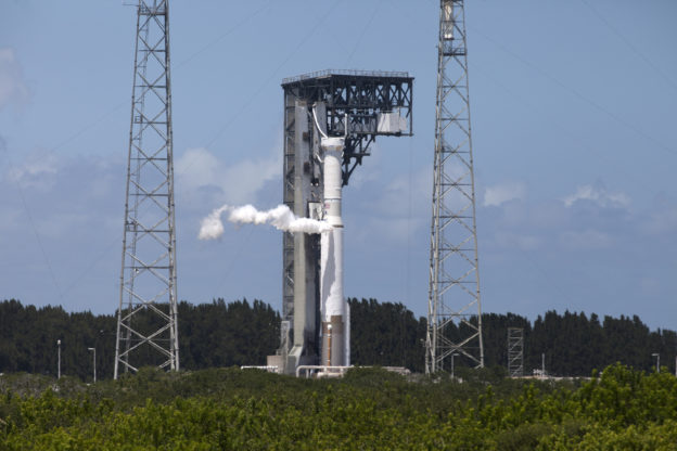 Atlas V Team Conducts Wet Dress Rehearsal