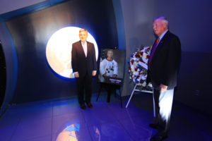 Wreath Laying Ceremony for Eugene Cernan