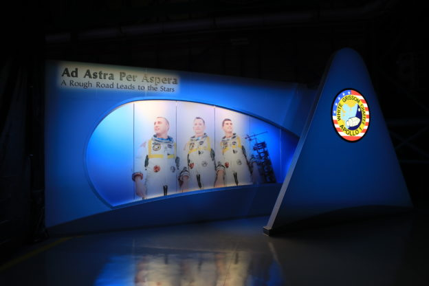 Tribute Unveiled Honoring Apollo 1 Crew