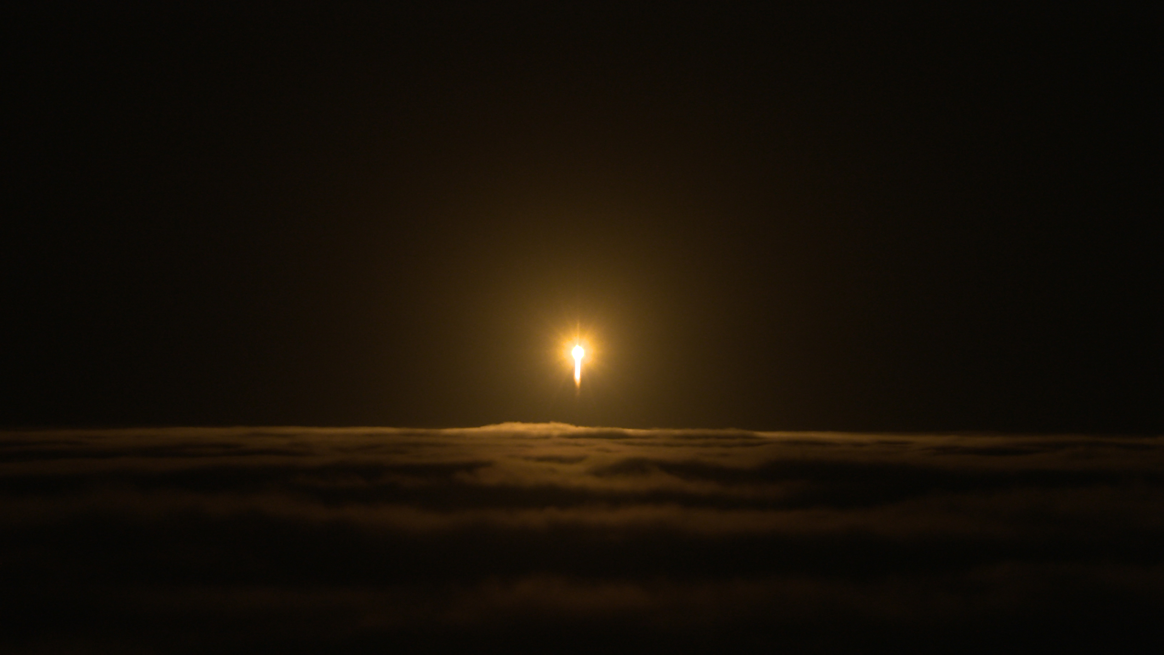 A United Launch Alliance Atlas V rocket lifts off from Space Launch Complex 3 at Vandenberg Air Force Base, California, carrying NASA's Interior Exploration using Seismic Investigations, Geodesy and Heat Transport, or InSight, Mars lander.