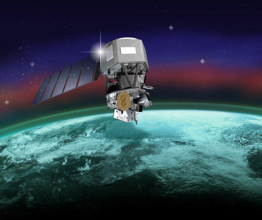 ICON spacecraft artist rendering