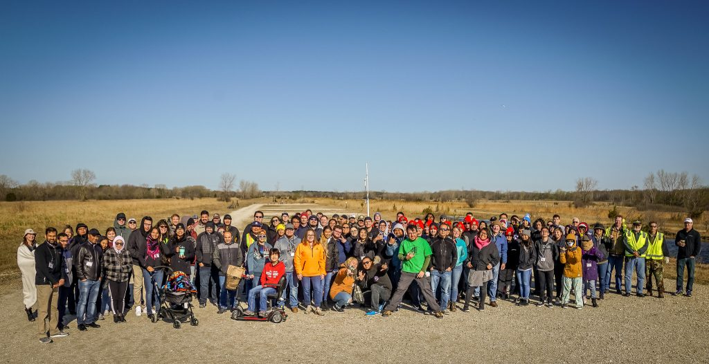 Fifteen student teams gathered in the cold in Kansasville, Wisconsin to compete in the high-powered rocket competition on April 26, 2019.
