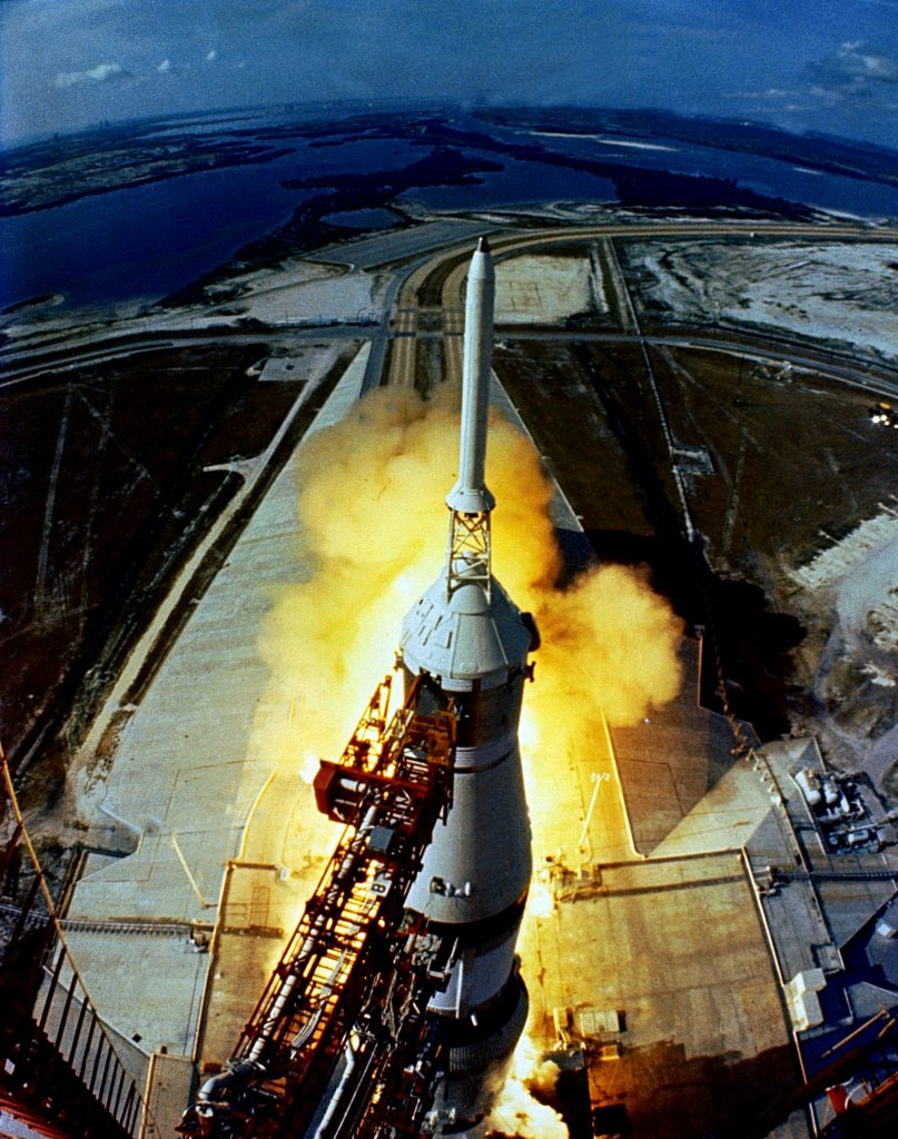 NASA's Apollo 11 mission launched July 16, 1969.