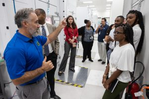 Langston University tour of Kennedy Space Center