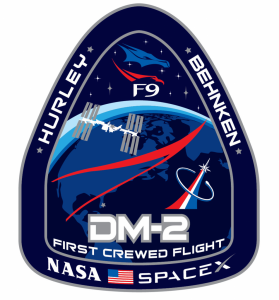 NASA's SpaceX Demo-2 mission patch