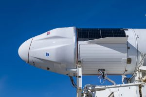 The upgraded version of Cargo Dragon for SpaceX's CRS-21 launch.