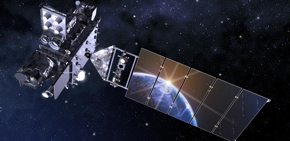 Artist's rendering of GOES-R, NASA