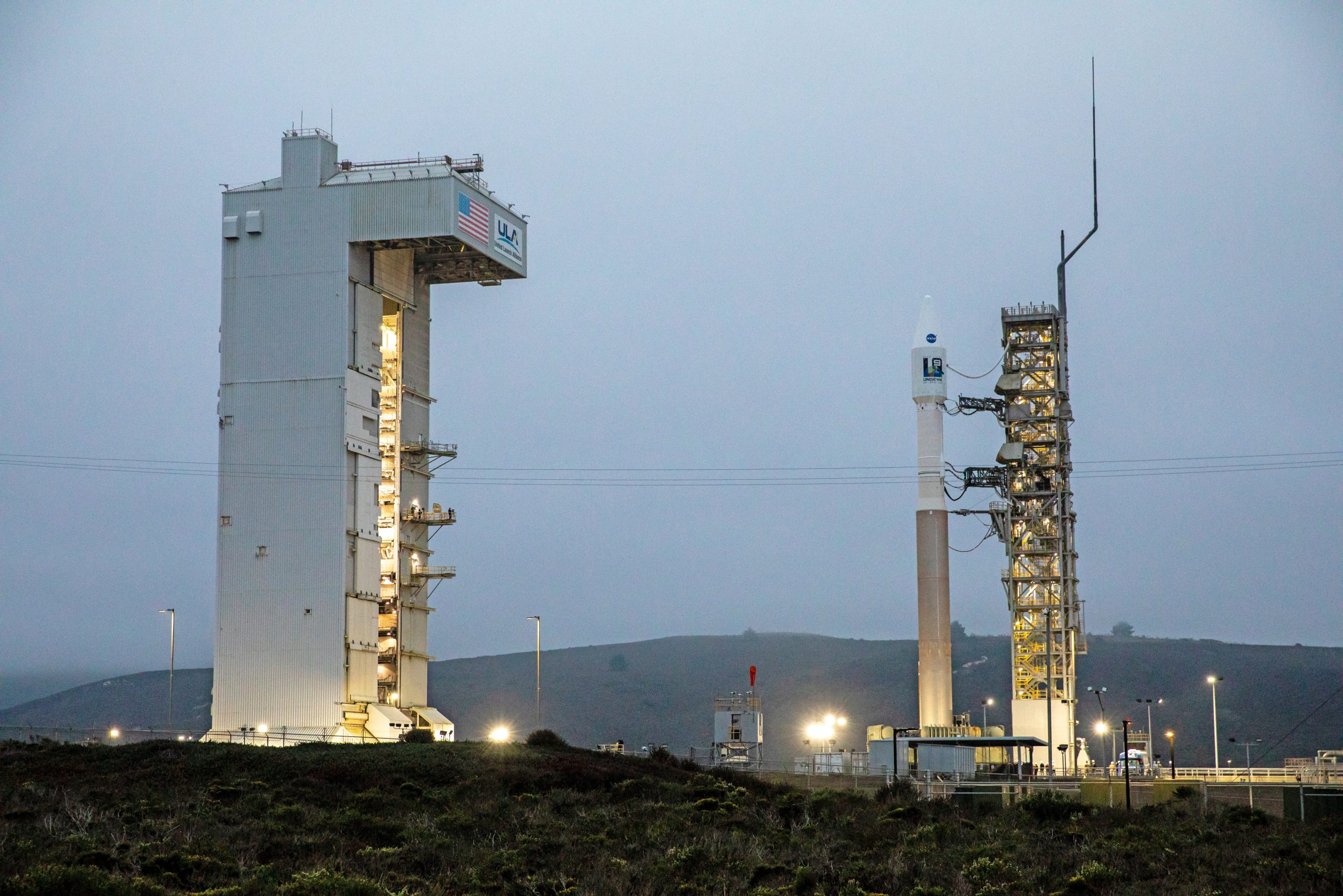 The Landsat 9 satellite, a joint NASA/U.S. Geological Survey mission that will continue the legacy of monitoring Earth's land and coastal regions, is scheduled for liftoff today from Vandenberg Space Force Base in California at 11:12 a.m. PDT (2:12 p.m. EDT).