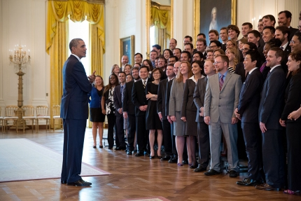 Young Scientists and Engineers Visit DC for Presidential Early Career Award