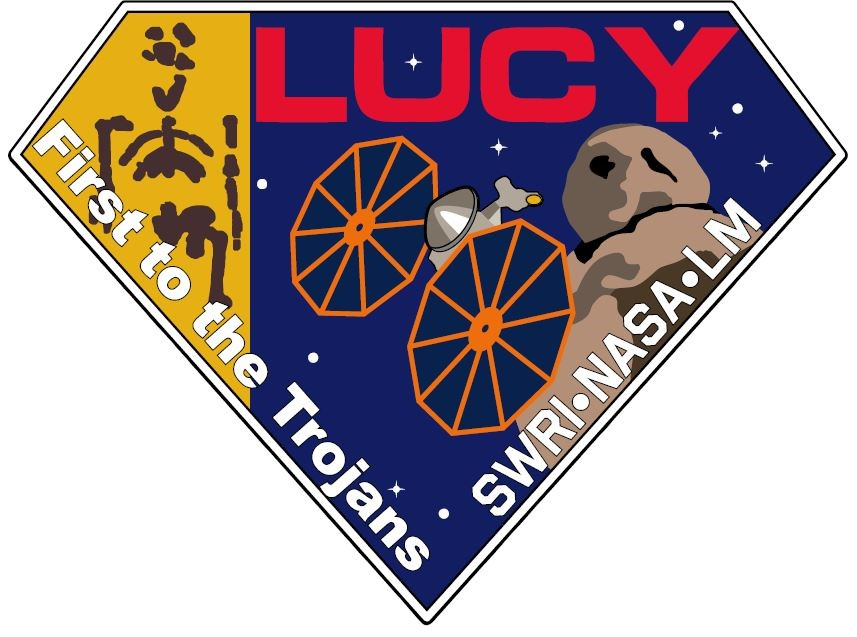 The Lucy mission patch.