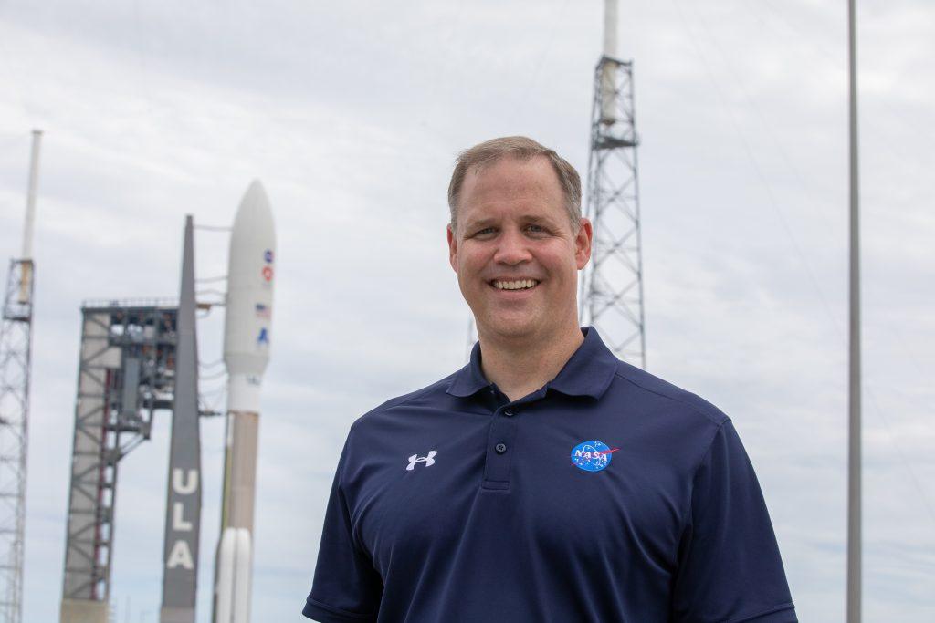 NASA Administrator Jim Bridenstine at Mars 2020 Perseverance rollout