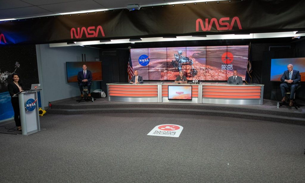 Mars 2020 Perseverance rover news conference