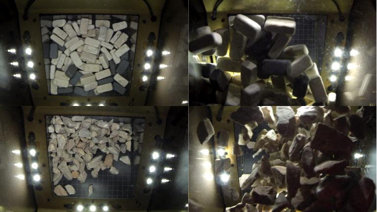 Box of Rocks Sample Zero G Data