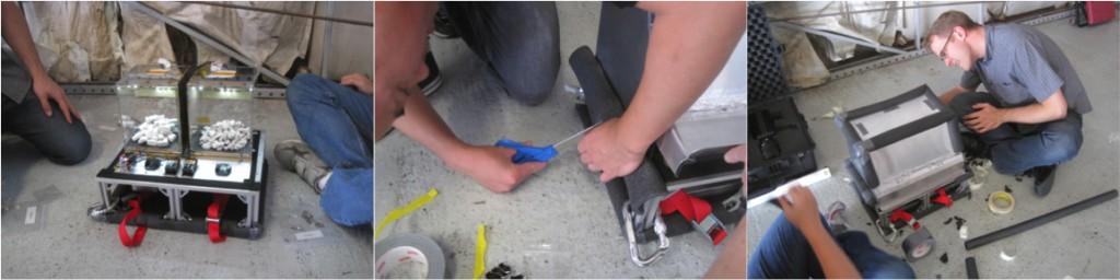 Assembling the Box of Rocks Experiment