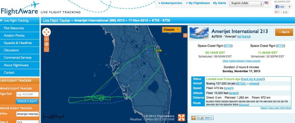 Flight Path Actuals