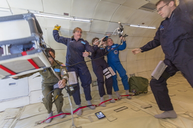 Focus is the name of the game! Flight Day  (Nov 17, 2013): Part 2 Experiencing Microgravity for the First Time!