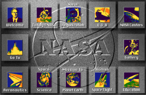 NASA.gov image map 1994