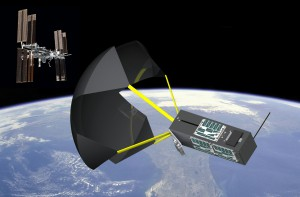 Artist concept of TechEdSAT-4. Credit: NASA