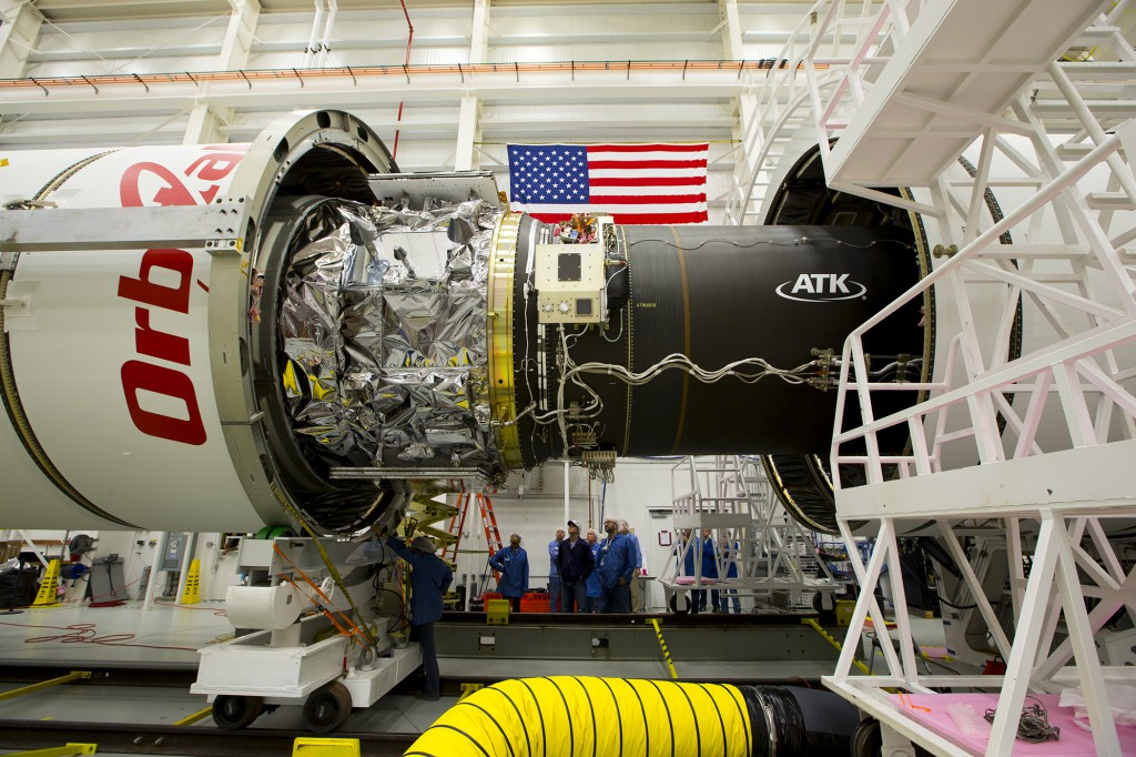 CRS-3 Fairing Installed